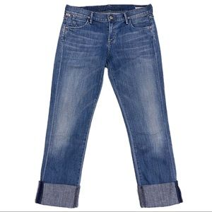 Citizens of Humanity Denim Cropped Capri Pants